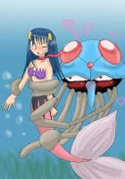 tentacruel in love :RQ: by Chibi-C