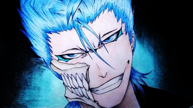 Grimmjow Jaegerjaques by VoX-draw