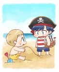 [BBC SHERLOCK] sandy beach by twosugars16