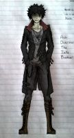 Sketch 09 - Ash Ducrow Concept 1 by tophats96
