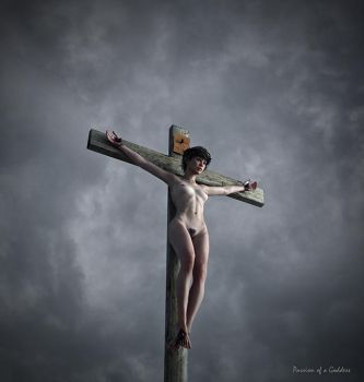 Grey sky crucifix 650 by passionofagoddess