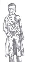 Will Turner Caricature by jlel