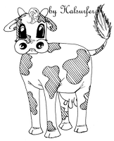 Cow BW by HALsurfer