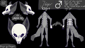 Ref Sheet Jager by Foxyink