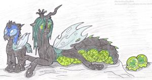 Chrysalis And Her Babyweight by SkywalkerGirl666