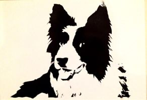 stencil of todd by shelbo64