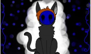 Eyeless Cat by Mixpaw