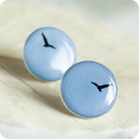 Fly Birdie ear studs by BeautySpotCrafts
