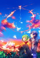 heart in the sky by uchuubranko