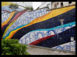 Monchique wall by PauloOliveira