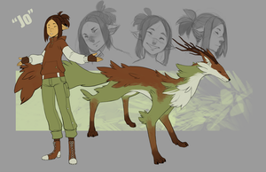 Jo Character Sheet by BloodnSpice