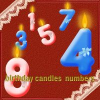 birthday candles by roula33