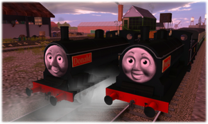 Simply Donald and Douglas by DarthAssassin