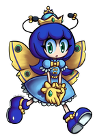 Moly the Moth Princess by colorgeist
