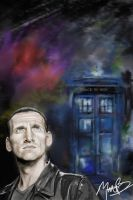 The Doctor (9th) by Sampl3dBeans