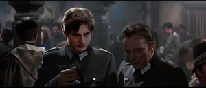 Major Philip and one of Nazi's officers by HellKobra