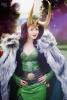 Lady Loki by Melali