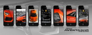 Aventador - Retina wallpapers for the iPhone by manuphilip