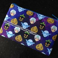 Majora's Mask Cosmetic Bag by zombielily