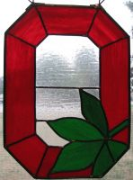 Ohio State University Stained Glass by AutobotWonko