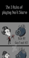 The 3 Rules of Don't Starve by The-Letter-W