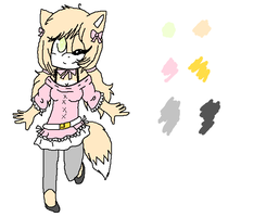 NC: Ref : Mango the Pom by TailsLover13