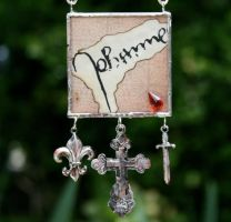 Relics of Saint Joan Necklace by mermaidencreations