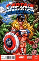Savage Land American Dream sketch cover by gb2k