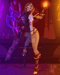 Warcraft Transition:  Lilian Voss by MischiArt