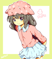 art trade: ruru-san by pastelu
