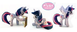 15 Inch Poseable Alicorn Twilight Sparkle by PlushActionToys