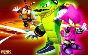 Team Chaotix Wallpaper by SonicTheHedgehogBG