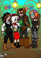 The little pirate group part 1 by NatalieTheAntihero