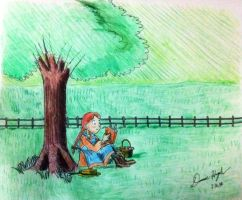 Anne Shirley of Green Gables by Donnietu