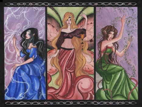 Munster's fairy Queens by hokuto-hime