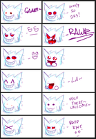 Most expressive Gengar evr by FelixV94x