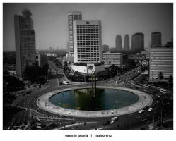 - Oasis in Jakarta - by indonesia