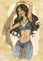 Princess Jasmine by Fulvio84