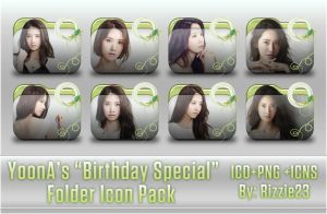 Yoona's Birthday Special Folder Icon Pack by Rizzie23