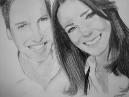 William and Kate by inkandstardust