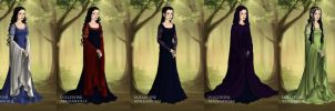 Arwen's Wardrobe from Return of the King by LadyAquanine73551
