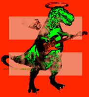 Marriage Equality Rockin T-Rex version by sandpaperdaisy