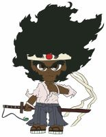 Chibi: Afro Samurai by animereviewguy