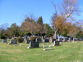 Autumn Cemetery 01 by DKD-Stock