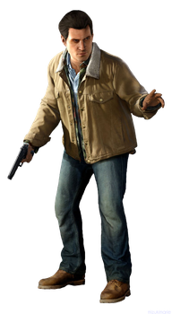 inFamous Second Son Reggie Rowe Render Cutout by mizukimarie