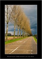 Road to bad weather by sandervandenberg
