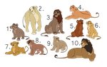 Lion sheet adopt /CLOSED/ by Karksy