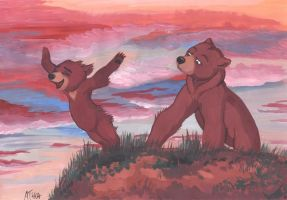 Brother Bear by akelataka