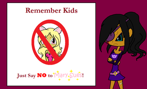 Just say NO to mary sues by Obeliskgirljohanny