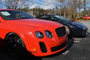 bentley continental gt supersport and Lamborghini by Hcitron